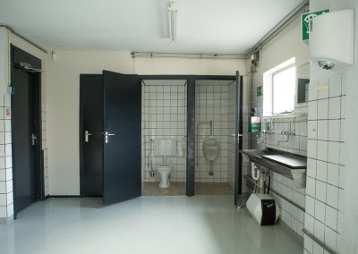 Toiletgroep opslagruimte