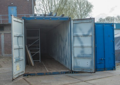 Open container 40 ft